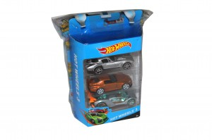 Hot Wheels 3 + Fungus Amungus - Mattel, COBI